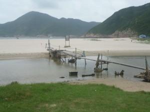 Hong-Kong est une île... on est donc toujours récompensé par un plage en finissant une rando !