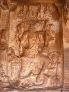 Vishnou varaha à Badami
