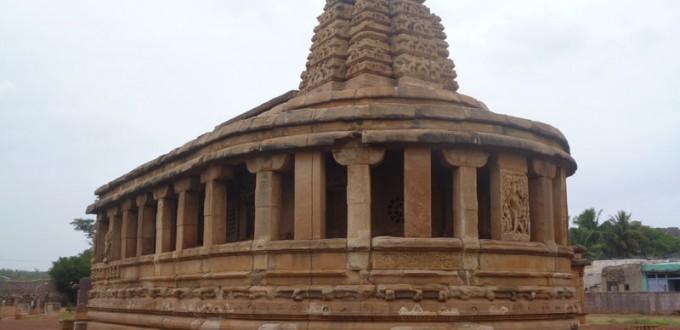 Le temples de Durga à Aihole
