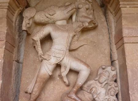 L'avatar du sanglier à Aihole