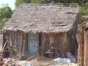 Petite maison typique du coin...