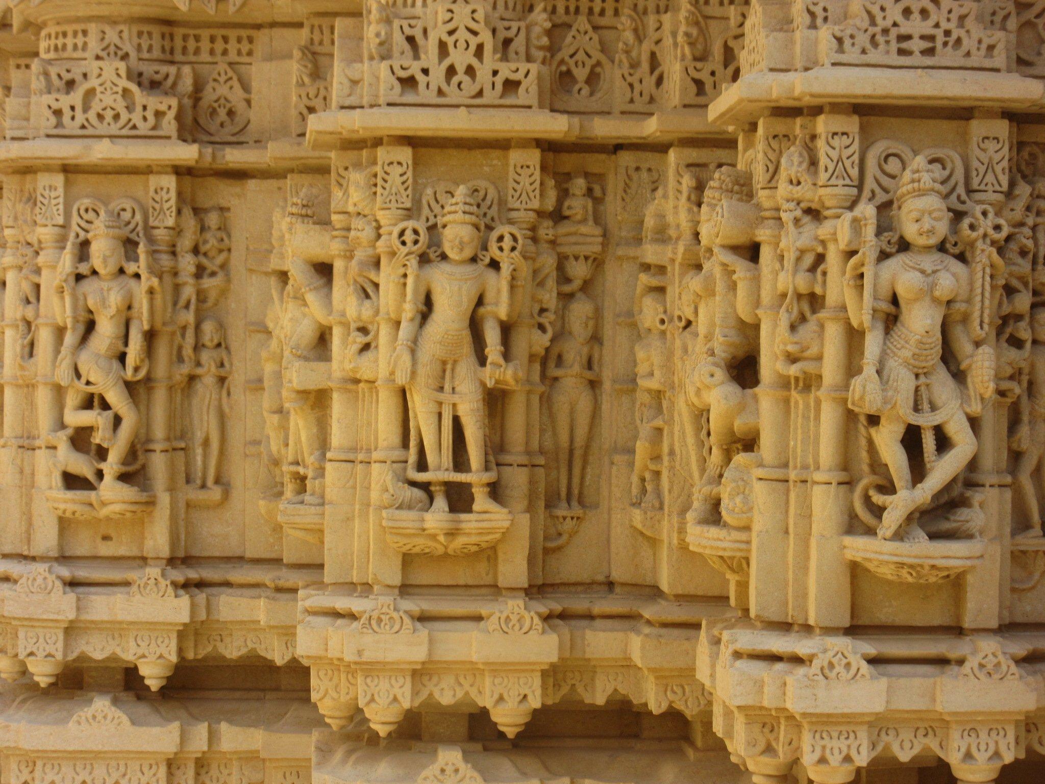 Temple Jaïn à Jaisalmer
